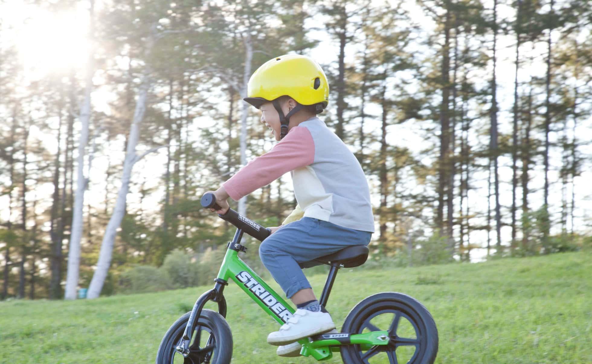 3歳から始めるなら自転車ではなくストライダー!買っても遅くない理由とは?