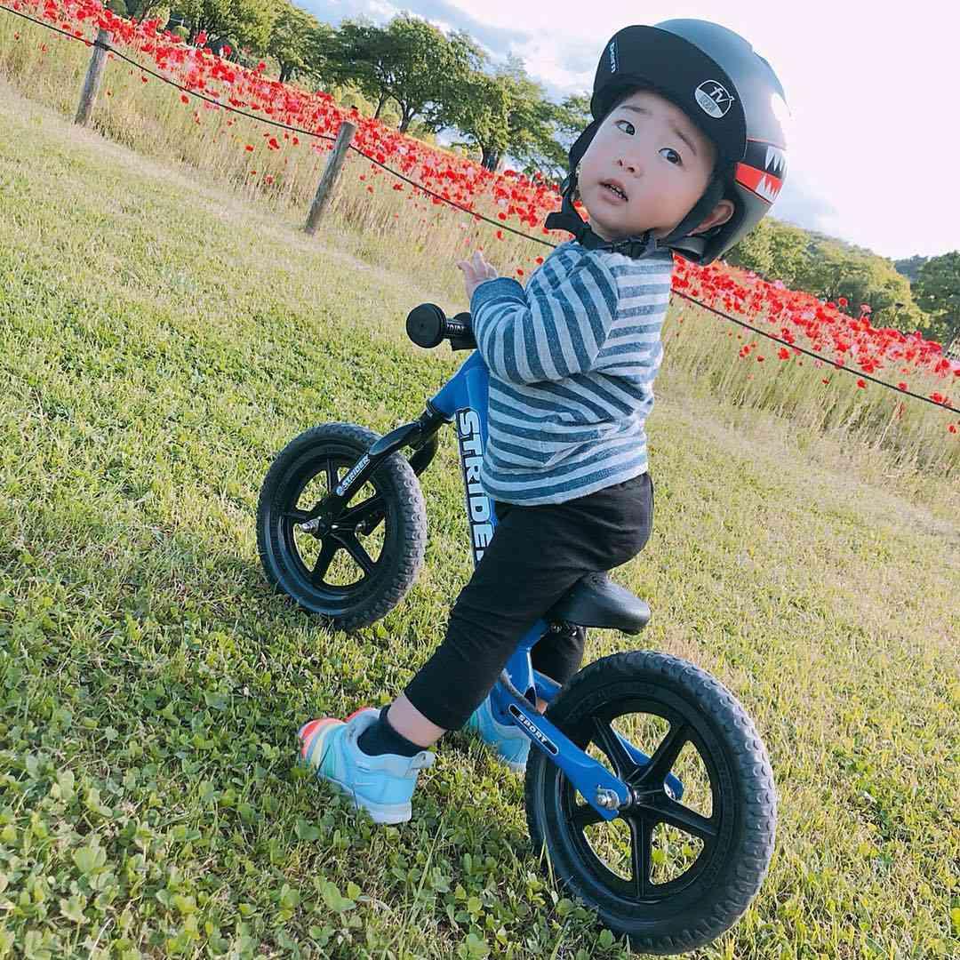 あの子もストライダー始めたよ!1歳だってストライダー!