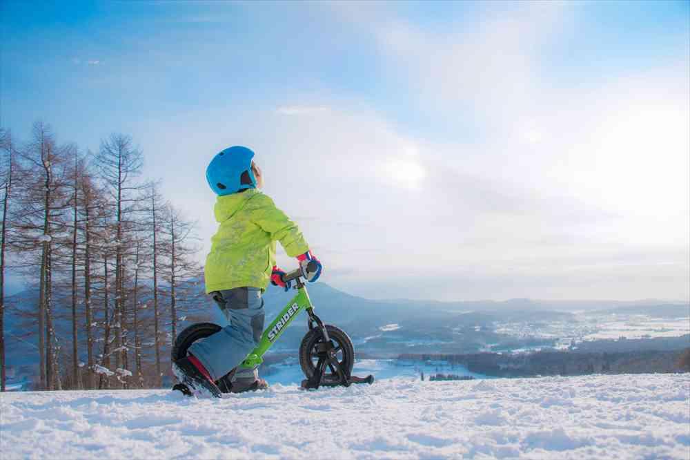 スノーストライダーで冬がもっと好きになる。