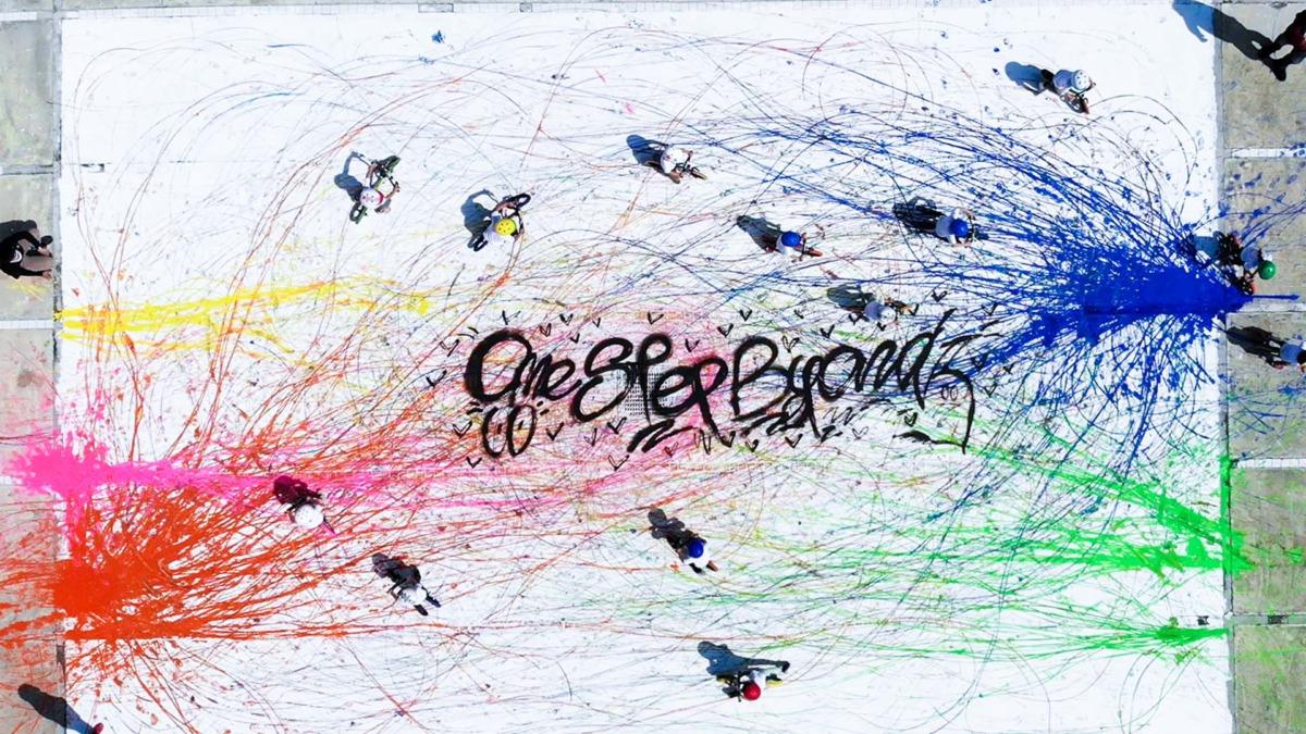 ストライダーアートプロジェクト|KIDS×アーティスト神山隆二「ONE STEP BEYOND」コンセプトムービーが完成